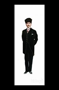 Atatürk 2 - Lazer Kesim Ayraç