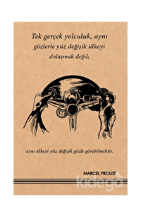 Marcel Proust - Kraft Defter
