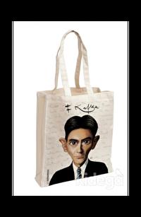 Franz Kafka - Karikatür Aforizma Bez Çanta