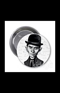 Franz Kafka (Karikatür) - Rozet