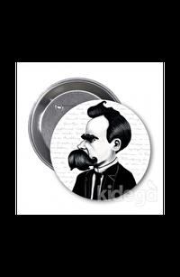 Friedrich Nietzsche (Karikatür) - Rozet