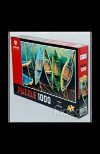 Kayıklar 1000 Parça Puzzle