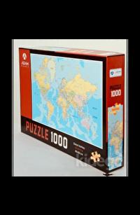 Dünya Haritası 1000 Parça Puzzle