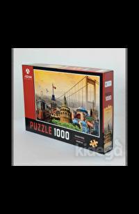 İstanbul Kolaj 1000 Parça Puzzle