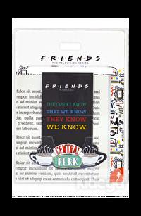 Mabbels Friends Central Park Mıknatıslı Kitap Ayracı