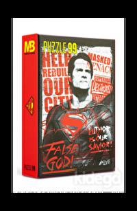 Mabbels Superman 99 Parça Puzzle