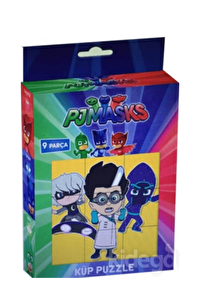 Laço Kids Pijamaskeliler Küp Puzzle