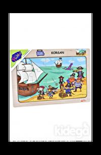 Playwood Ahşap Puzzle Korsan