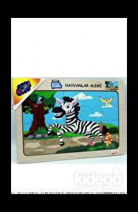 Playwood Ahşap Puzzle Hayvanlar Alemi