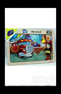 Playwood Ahşap Puzzle Meslekler