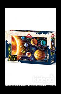 Art Puzzle Güneş Sistemi 1000 Parça Neon