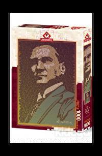 Art Puzzle Atatürk ve Nutuk 1000 Parça