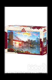 Art Puzzle New York'da Günbatımı 1000 Parça