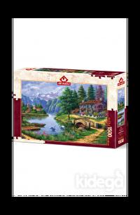 Art Puzzle Göl Köy 1500 Parça