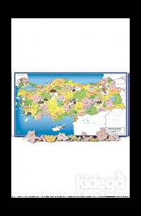 Art Puzzle Kids Türkiye Siyasi Haritası 81 Parça Frame