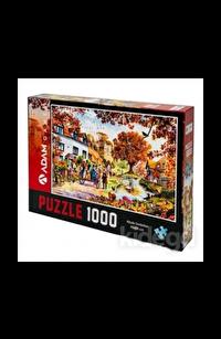 Köyde Sonbahar 1000 Parça Puzzle