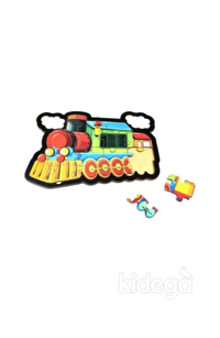 Tren Ahşap Puzzle 18 Parça