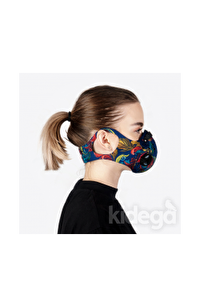 CHUM  Peacock Aktif Karbon Filtreli Outdoor Maske