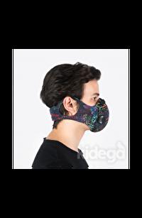CHUM  Spacephobia Aktif Karbon Filtreli Outdoor Maske