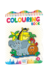COLORING BOOK Boyama Kitabı - 1 (CA.1011)
