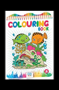 COLORING BOOK Boyama Kitabı - 3 (CA.1013)