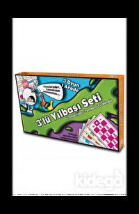 3'lü Yılbaşı Oyun Seti