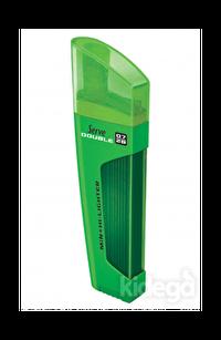 Serve Double Min 0.7 mm 2B + Fosforlu Kalem Yeşil