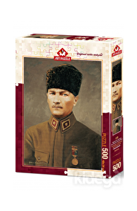 Art Puzzle Gazi Mustafa Kemal 500 Parça