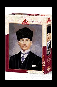 Art Puzzle Cumhurbaşkanı Gazi Mustafa Kemal 500 Parça
