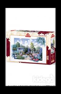 Art Puzzle Çiçekli Bahçe 500 Parça