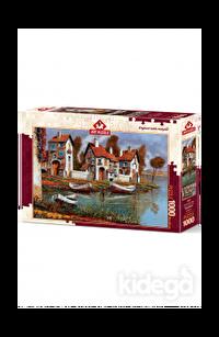 Art Puzzle Cerchıo Evleri, İtalya 1000 Parça