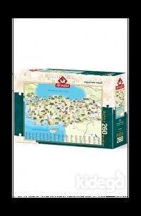 Art Puzzle Türkiye Kültür Haritası 260 Parçası
