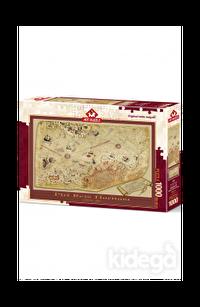 Art Puzzle Piri Reis Haritası 1000 Parça
