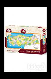 Art Puzzle Kids Türkiye Siyasi Haritası 123 Parça
