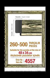 Art Puzzle 500'lük Platin Çerçeve 48 x 34 cm