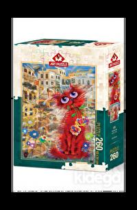 Art Puzzle Kırmızı Kedi 260 Parça