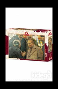 Art Puzzle Atatürk ve Depremzede 1000 Parça