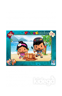 Art Puzzle Kids Pepee Tatilde 24 Parça
