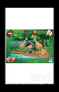 Art Puzzle Kids Pepee Ormanda 24 Parça