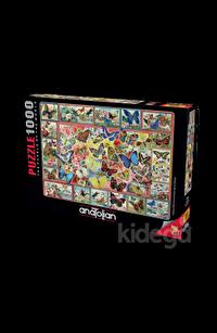Anatolian 1000 Parça Puzzle Kelebekler