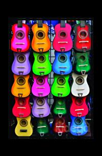 Müziğin Renkleri Puzzle 500
