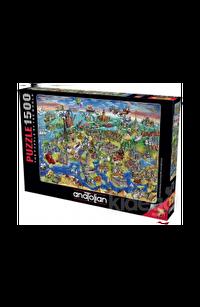 Anatolian 1500 Parça Puzzle