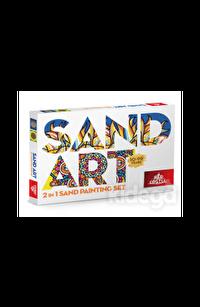 2 in 1 Sand Art Yetişkin Kum Boyama