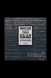 Poster -  Wanted: Alecto Carrow Büyük