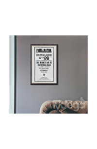 Poster -  Hogwarts Proclamation No 98 Büyük