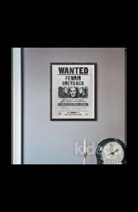 Poster - Wanted: Fenrir Greyback Küçük