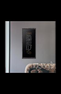 Poster - Dobby Tipografik Küçük