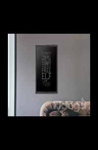 Poster - Dobby Tipografik Büyük