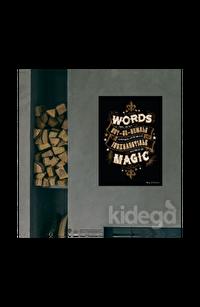 Poster -  Magic Words Tipgrafik Büyük