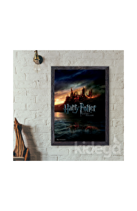 Poster - Harry Potter and Deathly Hollows Hogwarts Afiş Küçük